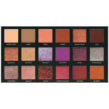 18 Colors Eyeshadow textured Pallete Desert Dusk Palette Matte Makeup Cosmetic Shimmer Matte Glitter Diamond Pigment Eyeshadow