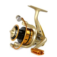German Technology 1000 7000 Seires 10 Bears Metal Front Drag Spinning Fishing Reel Free Shipping Fishing