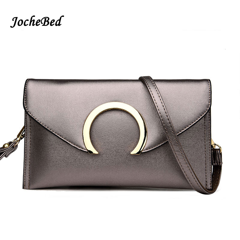 Fashion 2017 Luxury Brand Women Leather Handbag Gold Evening Bags Ring Small Bag Women Clutch Black Women Shoulder Clutches Bags  new casual small clutches brand handbag black women evening clutch bags high quality pu leather shoulder bags designer hand bag