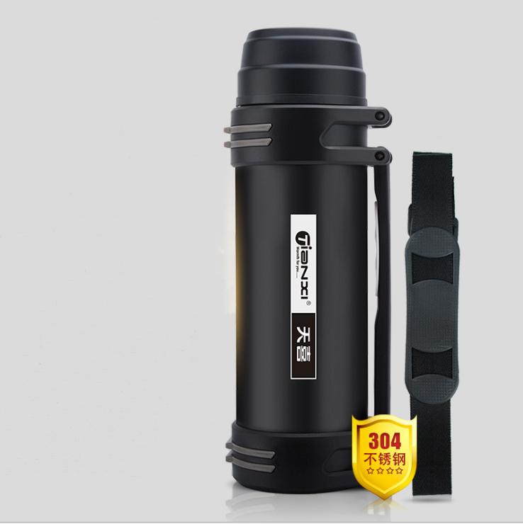 1800ml 2200ml Vacuum Flask Thermos With Bottle Thermal Bottle Stainless Steel Insulated Metal Thermos Travel Drinkware