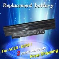 JIGU 5200 mAh batería para Acer Aspire One 522 D255 722 AOD260 D255 D255E D257 D257E D260 D270 E100 AL10A31 AL10B31 AL10G31