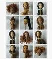 Новый Высокое Качество FR Целостности Черные Волосы Куклы Голова барби Куклы, DIY Игрушки 2016 НОВЫЙ стиль Мода Фото головы FR глав