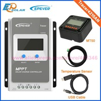 EPEVER 4210AN MPPT 40A Solar Charger Controller LCD 12V24V Auto EPEVER High Efficiency Regulador Solar with MT50 100V Solar