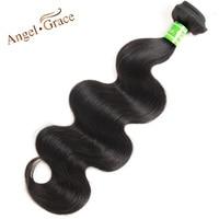 Angel Grace Hair Brazilian Body Wave Hair Bundles 10~28 Inch Natural Color 100% Human Hair Weaving Free Shipping Remy Hair