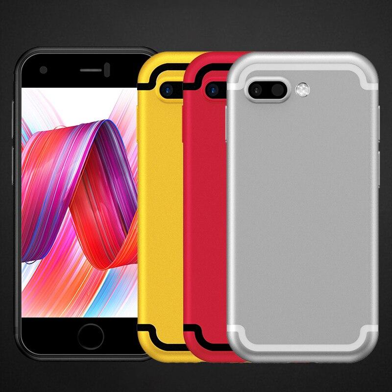 d7b788a8b99 Original SOYES 7S Super Mini Android Smart mobile Phone 1GB+8GB 5.0mp quad  Core Dual SIM Dual standby Unlocked Pocket Cell Phone