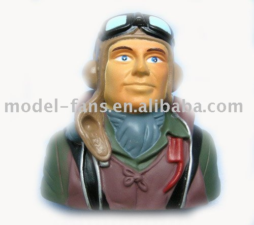 Free Shipping RC 1/6 Pilot Model For Airplane