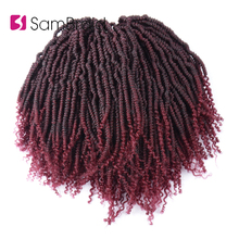 SAMBRAID 12Inch Passion Spring Twist Hair Braiding