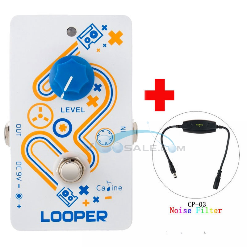 Caline CP 33 Looper Guitar Effect Pedal High Quality Recording CP 03 Noise Filter Guitar Accessories