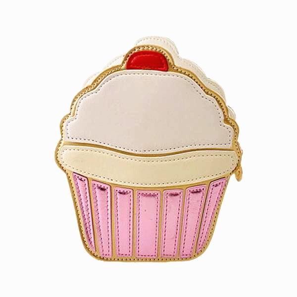 TEXU Ice cream Cupcake Mini Women Bags PU Leather Small Chain Clutch Crossbody Girl Shoulder Messenger bag