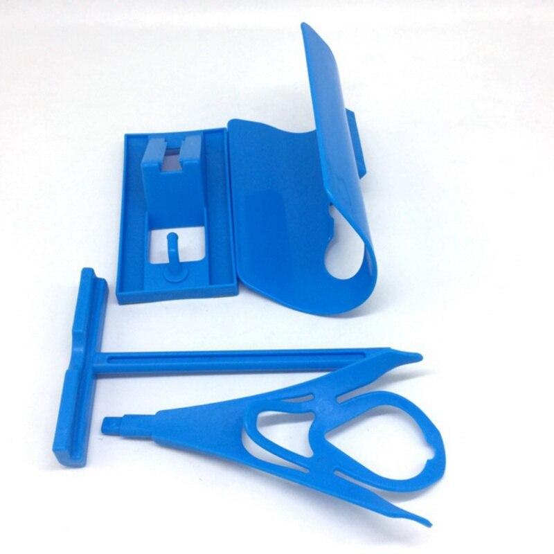 New Sock Slider Aid Blue Helper Kit Helps Put Socks On Off No Bending Shoe Horn Suitable For Socks Shoe Horn Best Tool