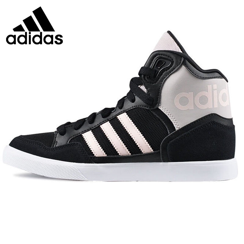 Prix pour Original Nouvelle Arrivée Adidas Originaux Femmes de Haute Top Planche À Roulettes Chaussures Sneakers