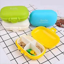 Mini Capsule Carrying Case One Week Portable Pills Drug Storage Boxes Travel Packaged Box
