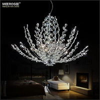 Crystal Chandelier Light Vintage Floral French Crystal Lustre Light Cristal Suspension Lamp MD2376