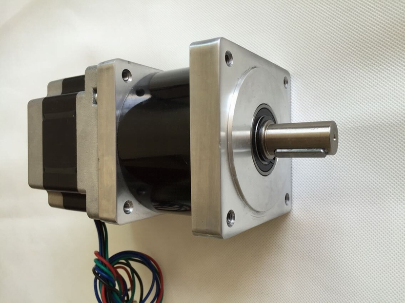 NEMA34 Reducer ratio 4:1/5:1/10:1/16:1/20:1/25:1/40:1/50:1/100:1 Planetary Gearbox Stepper Motor 65mm motor length 2.8A 4 wires 1 1 9l