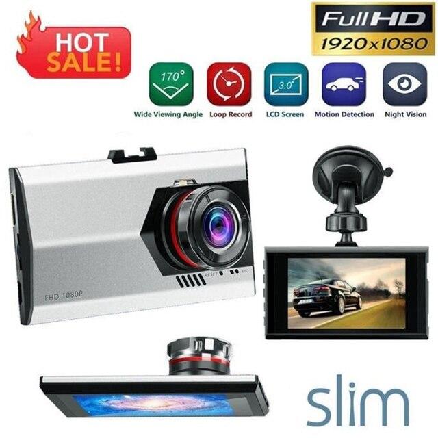 2016 hot sale fashion new 3' Full HD 1080P Car DVR Dash Camera G-sensor Vehicle Video Cam Recorder very nice