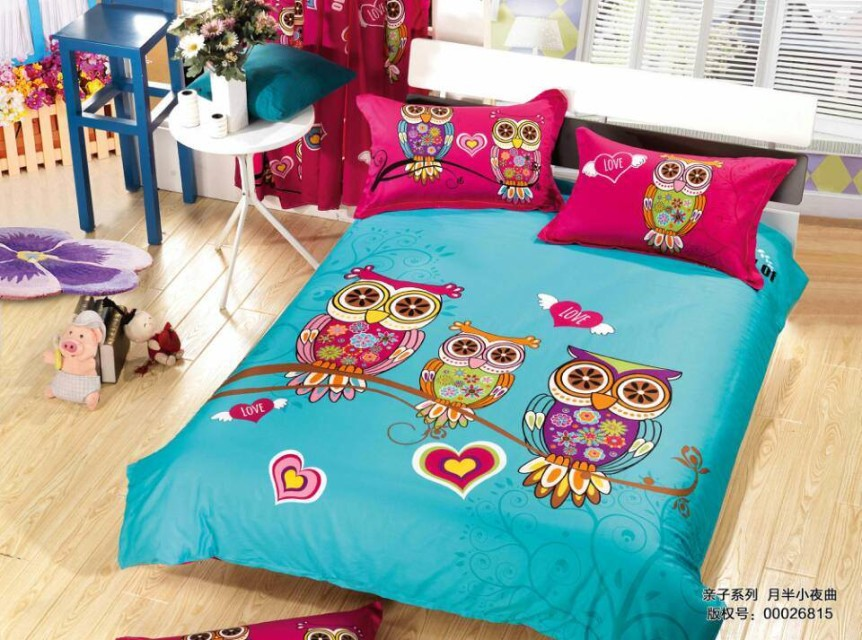 Duvet covers for girls picture more detailed picture for Housse de couette king size