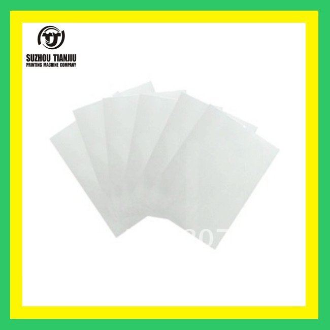 PET Transparency Film for Making Screen Alate A4 100sheet/pack