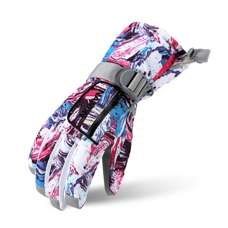 Winter Family Ski Gloves Girls Boys Waterproof Warm Gloves Men Women Kids Windproof Sports Skiing Snowboarding Climbing Gloves