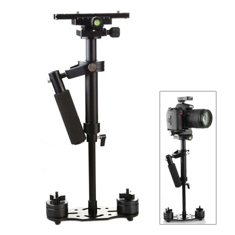 40cm Professional Handheld Stabilizer For Canon Nikon Sony DSLR Mini Steadycam Steadicam Camcorder Digital Camera Video DHL Free mcoplus professional handheld stabilizer video steadicam for digital hdslr dslr rig shoulder mount dv camera camcorder
