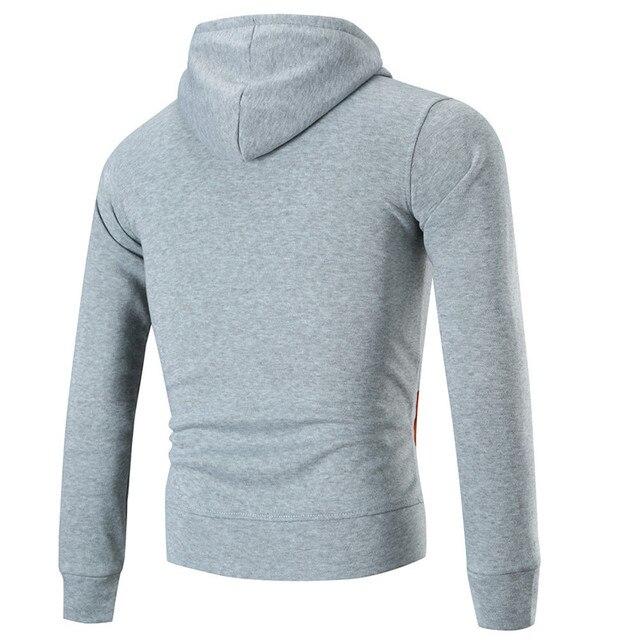 Men Slim Coat Jacket Hoodies Overcoat Jackets Zipper cardigan
