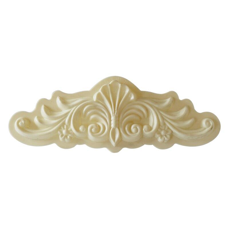 H28*L90cm (11.02*35.43in)  ABS Chrysanthemum Petal Precast Home Decoration/Villa Wall Concrete Applique Mold Multi Pattern/Specs