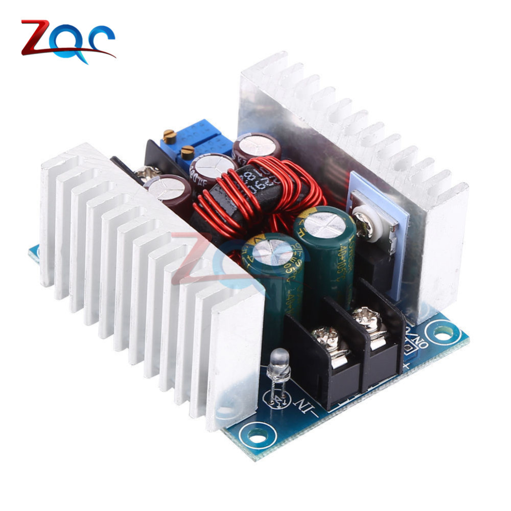 300W 20A DC-DC Buck Converter Step-down Module Constant Current LED Driver Power Step Down Voltage Module 10pcs 5 40v to 1 2 35v 300w 9a dc dc buck step down converter dc dc power supply module adjustable voltage regulator led driver