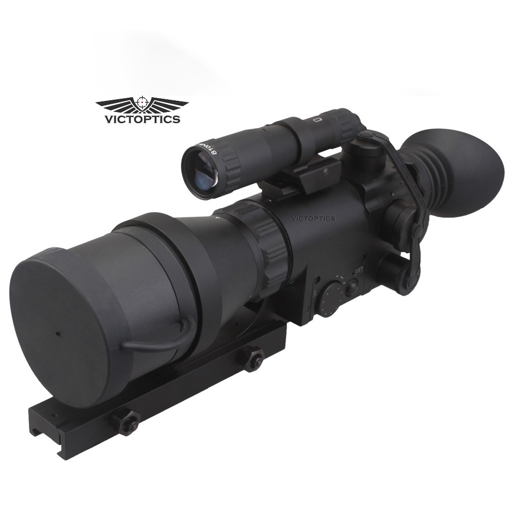 VictOptics 4x60 Caccia NightVison Scope Riflescope IR per la Visione di Ripresa Con 9 Livelli di illuminazione