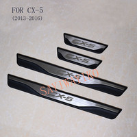 FIT For Mazda CX 5 Cx5 2013 2014 2015 2016 Door Sill Scuff Plate Welcome Pedal Stainless Steel Car Styling Car Accessories