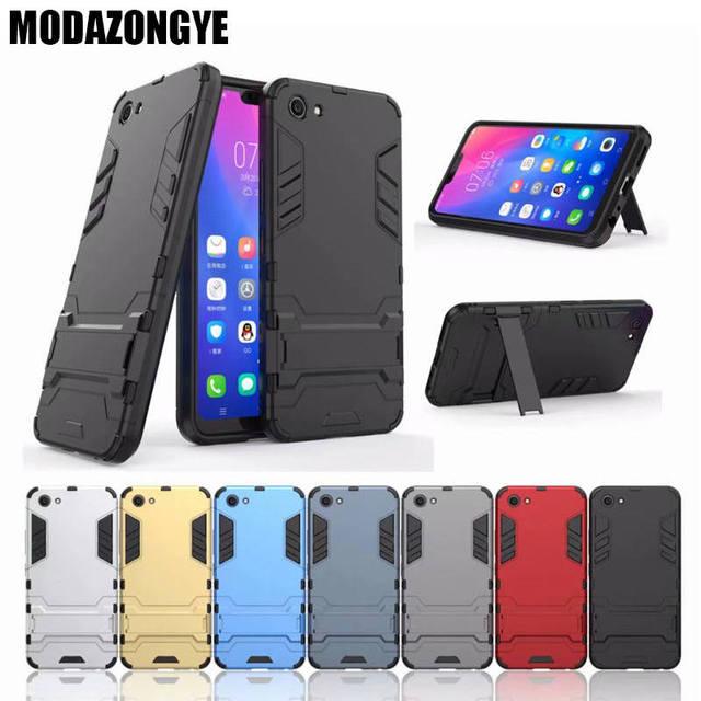 more photos d2929 520a1 US $3.19 20% OFF VIVO Y81 Case VIVO Y81 Case 6.22 inch Luxury Hybrid  Silicone + TPU Back Cover Phone Case VIVO Y81 Y 81 VIVOY81 Case  Protective-in ...