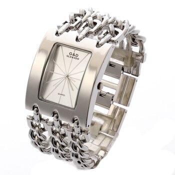 2017g & d 탑 브랜드 럭셔리 여성 손목 시계 쿼츠 시계 숙녀 팔찌 시계 드레스 relogio feminino saat gifts reloj mujer