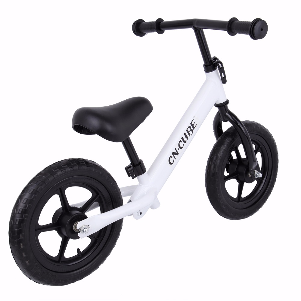 (Ship from US) 12 Kids Balance Bike ClassicNo-Pedal Learn To Ride Pre Bike with Adjustable Seat