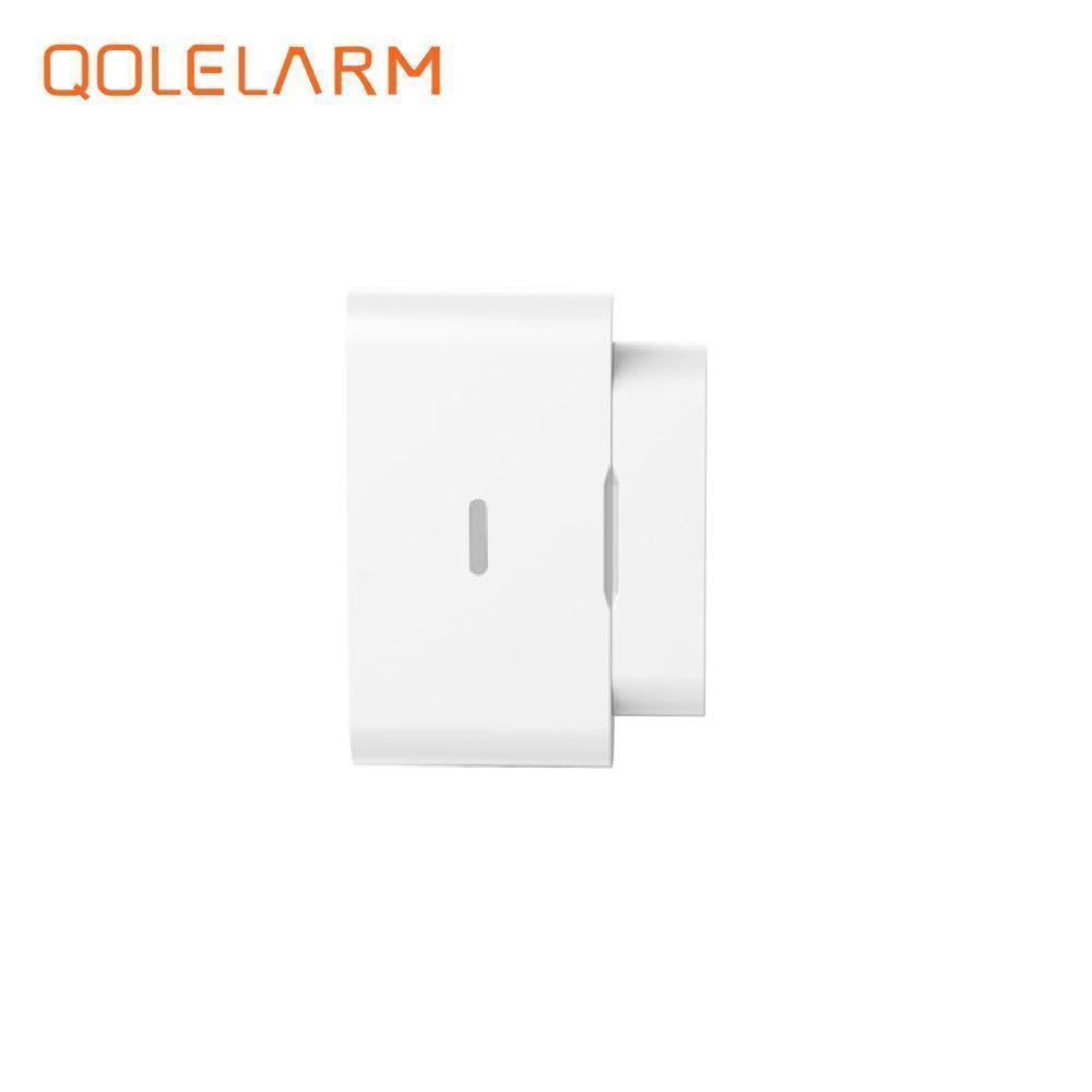 Built-in antenna,433mhz sensor door window normally open magnetic switch emergency alarm anti-theft sensor for home alarm system smartyiba 433mhz wireless door window sensor door open detection alarm door magnetic sensor door gap sensor for alarm system
