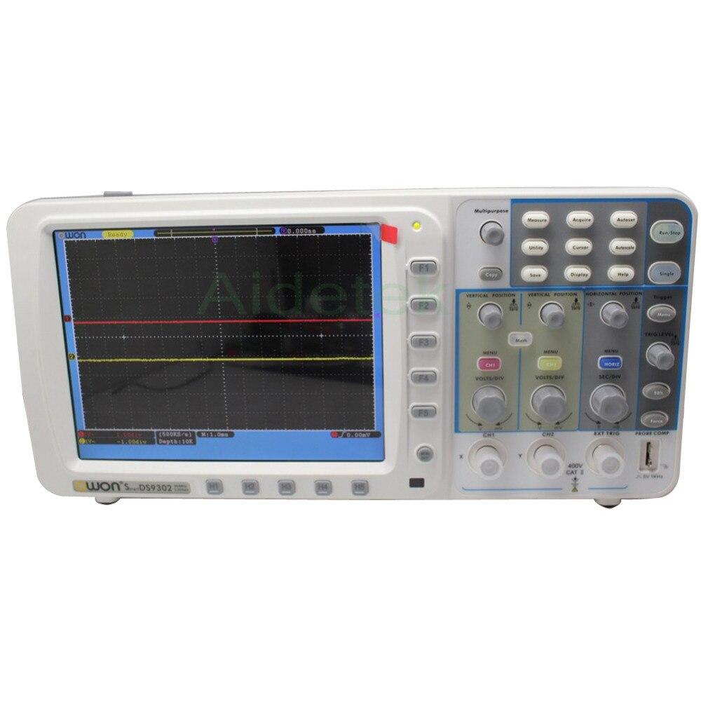 """""""OWON"""" Naujas ypač plonas 300 MHz OWON osciloskopas SDS9302 3.2G - Matavimo prietaisai - Nuotrauka 2"""
