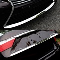 2 items stainless steel front bumper and rear truck bottom down decorative trim for LEXUS ES250 ES300 ES350h 2013 2014 2015 year