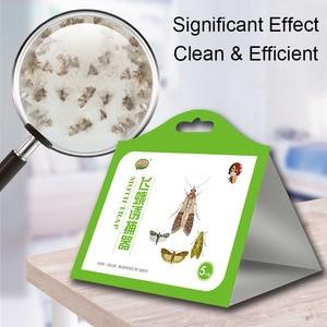 5 шт., тканевая ловушка для еды, моли, феромоны, клеевая ловушка, вредители, летающие насекомые