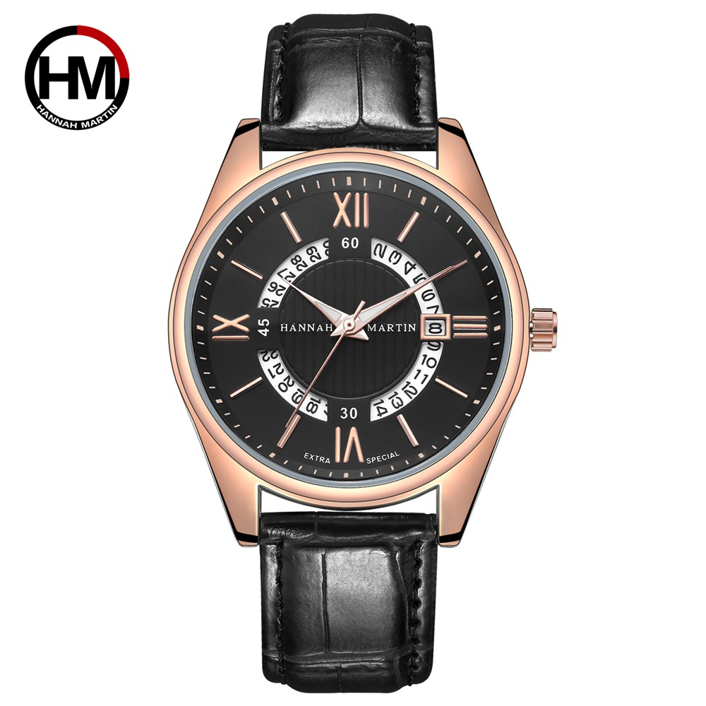 2019 Casual Fashion Quartz Watch Men Watches Top Luxury Brand Famous Wrist Watch Male Clock For Men Hodinky Relogio Masculino in Quartz Watches from Watches