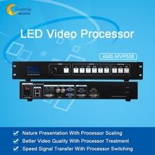 Лучшая цена полноцветный светодиодный дисплей открытый контроллер dvi видео switcher бесшовные switcher AMS-MVP508 для TS802D MSD300