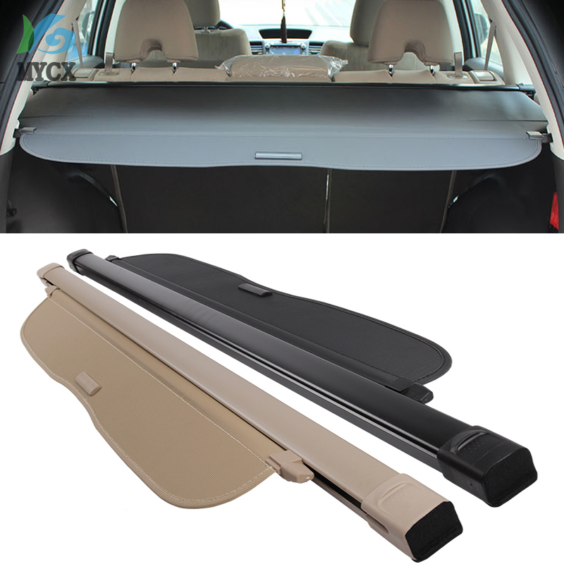 Trunk Shade BLACK Cargo Cover For Honda CRV CR-V 2012 2013 2014 2015 2016