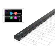 ONEเปียโนHi Liteสำหรับ 88 คีย์คีย์บอร์ดอิเล็กทรอนิกส์LED Light Stripสมาร์ทเปียโนบาร์