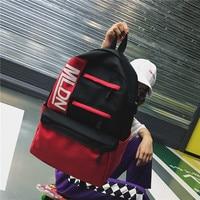 Hip Hop Street Trend Men Women Schoolbag Korean Ulzzang Large Capacity Backpack Laptop Bags Waterproof Mochilas Knapsack Bags