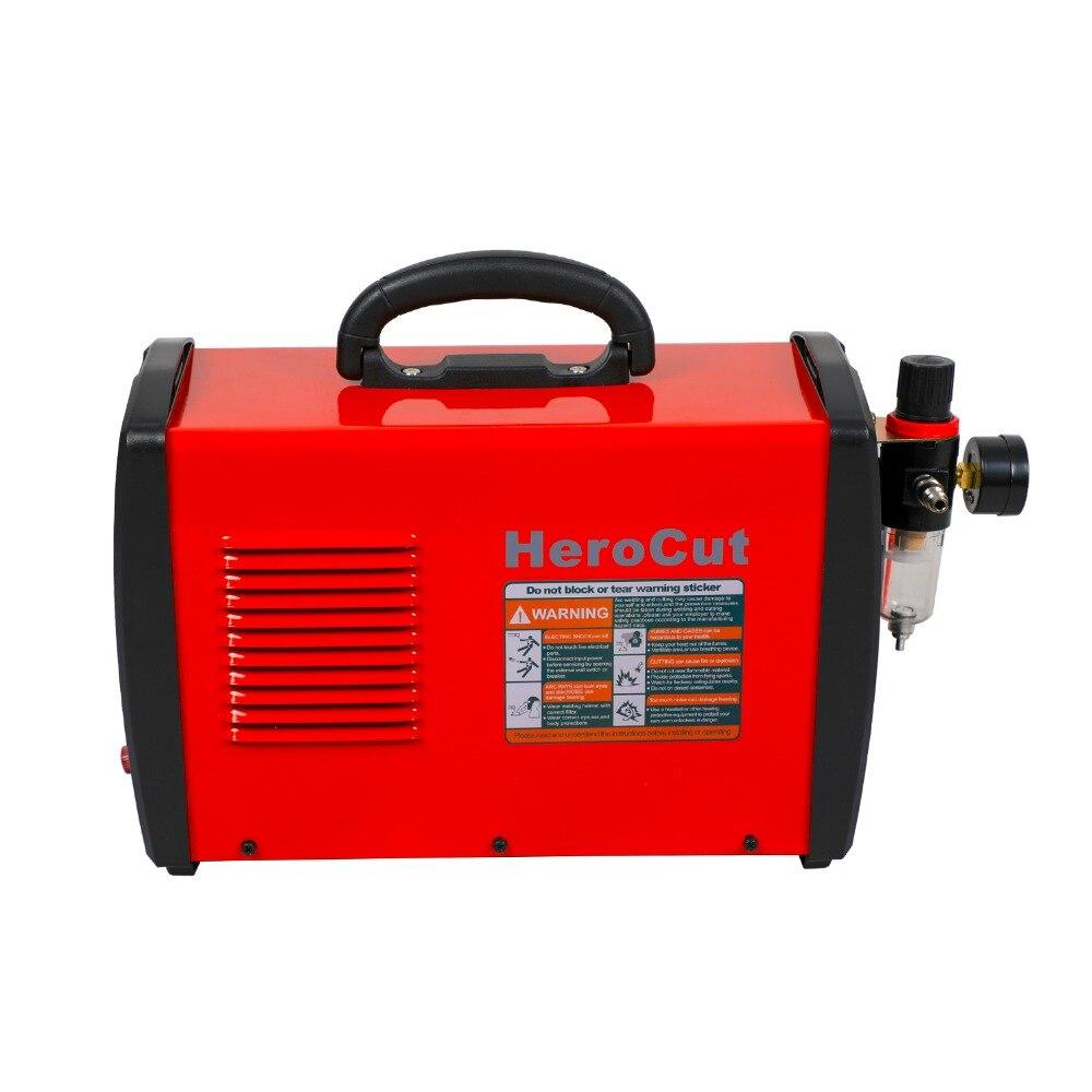 Cut50DII Dual Voltage 110V/220V Plasma Cutter Arcsonic HeroCut Plasma cutting machine