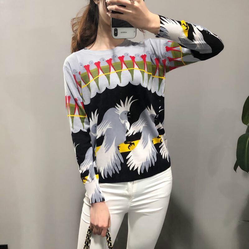 Femmes Blouses 2019 nouvelle mode à manches longues bureau Chemise en soie imprimé Blouse haut décontracté Blusas Femininas Chemise Femme