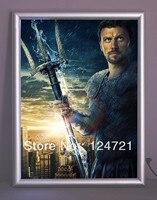 Wandmontage lightbox cinema led licht frame  aluminium led backlight boord 2016 nieuwe reclame producten free verzending