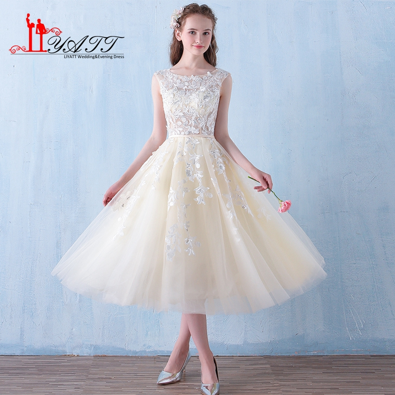 Cheap Wedding Dresses Size 6: 2017 A Line Cheap Bridesmaid Dresses Short Plus Size Tea