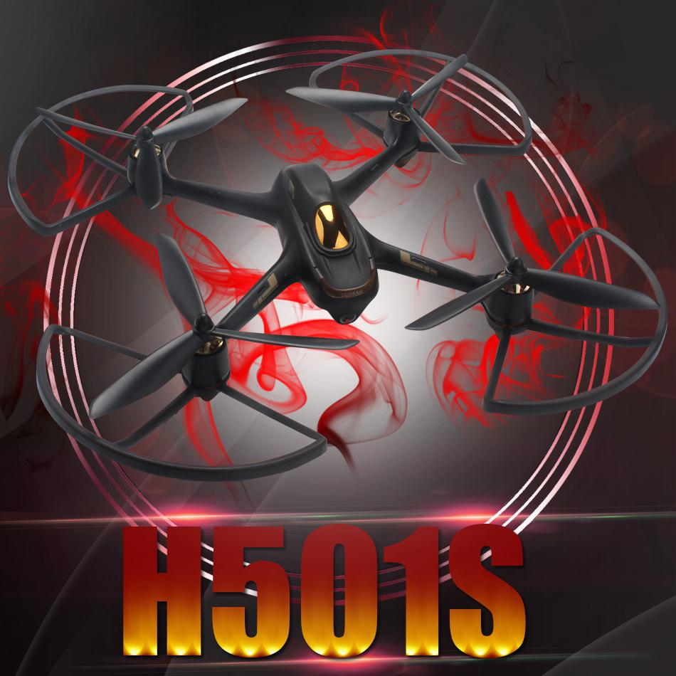 For HUBSAN <font><b>H501S</b></font> X4 <font><b>Parts</b></font> Set Propellers/ Protective Cover Accessories Spare <font><b>Parts</b></font> RC Drone Quadcopter Propeller Protector image