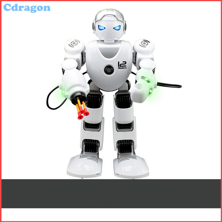 Cdragon smart robot remote control shooting function english version dance sing songs co ...