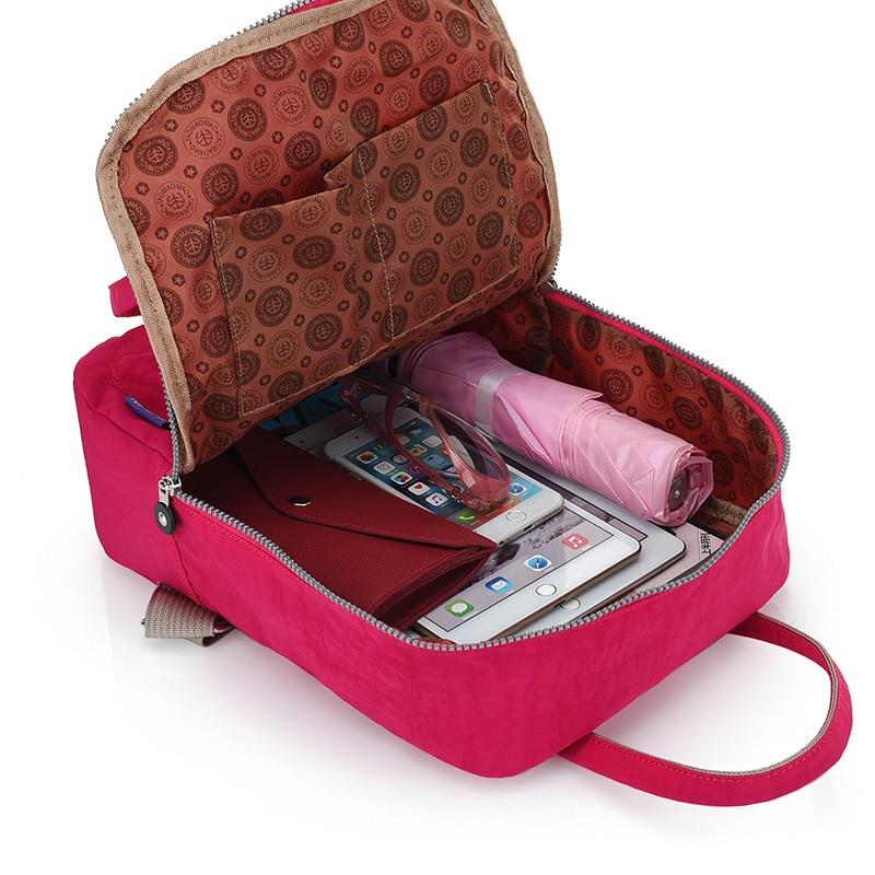 Qadın Sırt çantası Yüksək keyfiyyətli Neylon Məktəb - Bel çantaları - Fotoqrafiya 5