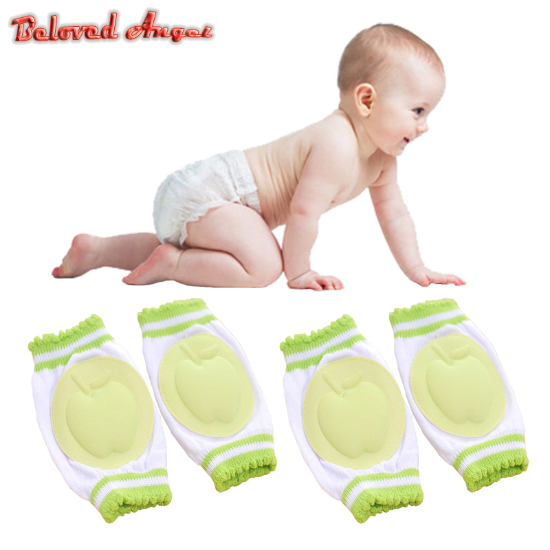 2pcs/Pair Baby Kneepad Kids Infant Knee Pads Protector Toddler Safety Crawling Elbow Cushion Breathable Baby Harnesses Leashes