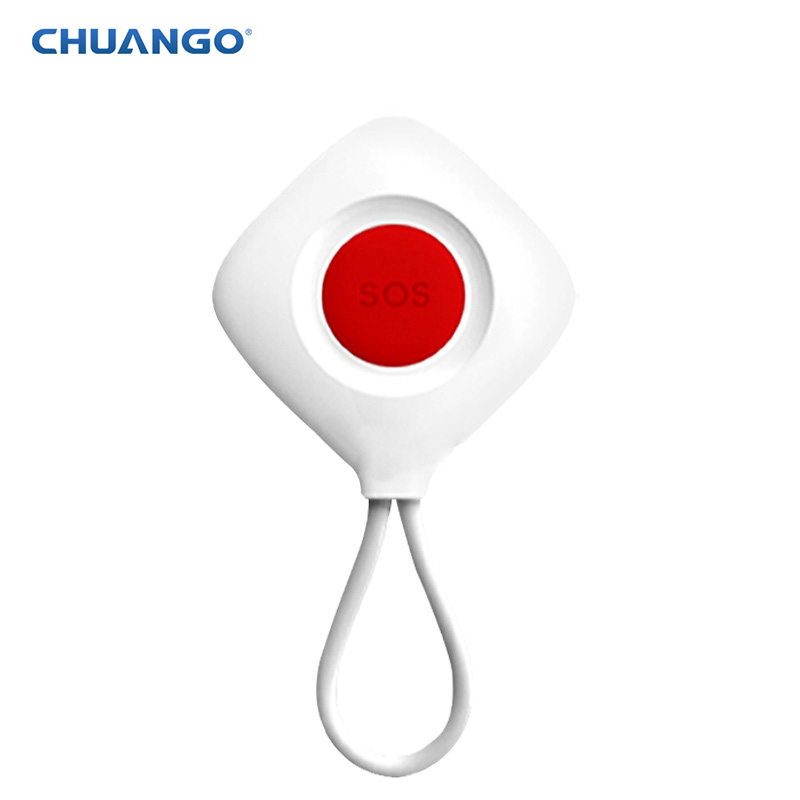 chuango Radio frequency SOS-100 Wireless Panic Button Emit Sound For 315Mhz Home Alarm System chuango sos 100 wireless panic button works the g5 b11 a11 alarm system