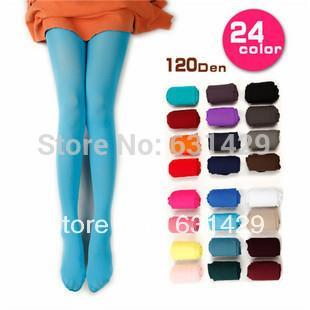 bc2a31c2d Detail Feedback Questions about Women s Semi Opaque Tights Pantyhose Colors  Stockings on Aliexpress.com